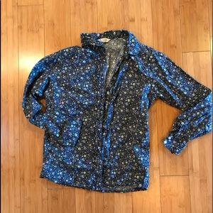 Cotton floral blouse